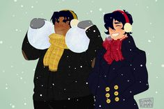 Soulmates - Klance fanfiction {Voltron Legendary Defenders} Lance x Keith Laith - Snow Day Klance Fanfiction, Lgbt, Persona 5 Anime, Voltron Fanart, Voltron Memes, Snowball Fight, Voltron Ships, Paladin, Disney Characters