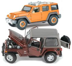 Jeep Wrangler Collectible Models Jeep Gifts, 2016 Jeep, Jeep Wrangler Jk, Jeep Stuff, Jeeps, Gift Guide, Monster Trucks, Models, Gift Ideas