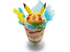 100,000  bolt parfait of Pikachu