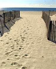Beach at Wildwood NJ