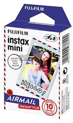 Fuji Instax Mini Films Airmail x Fujifilm Mini 8/50s Mini 25/90 Mini 7 Fuji…