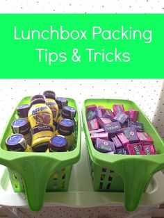 Lunchbox packing tips and tricks to help you organize items and save you time. #MyGoodLife #shop #cbias