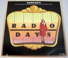 #RADIO DAYS #JAZZ MUSIC 1987 SOUNDTRACK VINTAGE #VINYL #LP #MUSIC RECORD GOODMAN SONG $24.99 FREE USA SHIPPING