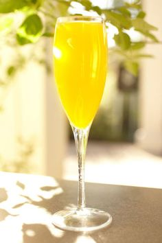 4 champagne cocktail recipes perfect for brunch at home.