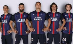 """""""Je suis Paris"""" en las camisetas del PSG"""