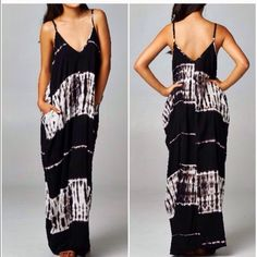 Last Ones! Tye Dye Cocoon Maxi Dress Beautiful and super comfortable maxi dress with pocket details and Tye dye pattern . Lightweight and easy to travel with . Nwt please comment for a personal listing do not buy this LISTING. Sizes S/M and M/L Vivacouture Dresses Maxi