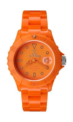 An orange Toywatch - perfect to coordinate with neutrals. What do you think?