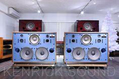 JBL 4355 新品製作キャビネット チャージカップルド・ネットワーク - ケンリックサウンド(KENRICK SOUND) - JBLスピーカー 43XXシリーズ 大型 中古ヴィンテージ専門店