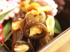 Shake no kobu maki, Japanese foods, tohoku, Japan