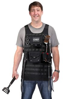 Fathers Day Tactical BBQ Apron