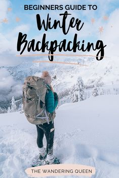 gear tent Beginners Guide To Winter Backpacking - The Wandering Queen Winter Tent Camping, Snow Camping, Cold Weather Camping, Winter Hiking, Winter Travel, Camping Tips, Holiday Travel, Europe Travel Tips, Travel List