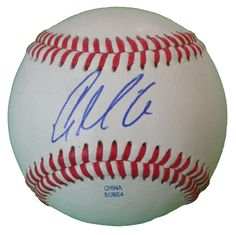 Chicago Cubs Casey McGehee signed Rawlings ROLB leather baseball w/ proof photo.  Proof photo of Casey signing will be included with your purchase along with a COA issued from Southwestconnection-Memorabilia, guaranteeing the item to pass authentication services from PSA/DNA or JSA. Free USPS shipping. www.AutographedwithProof.com is your one stop for autographed collectibles from Chicago sports teams. Check back with us often, as we are always obtaining new items.