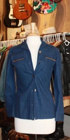 Ladies' Denim Shirt/Jacket, size S, available at our eBay store! $25