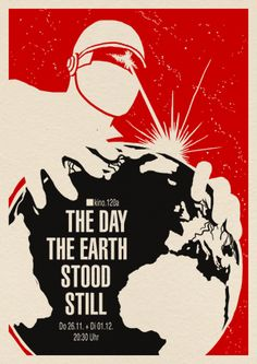 """The Day The Earth Stood Still"" movie poster"