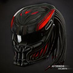 Любой клиент, может заказать к своему шлему Хищник, эксклюзивную аэрографию!