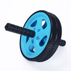 Furnistar Blue Exercise & Fitness Ab Wheel & Roller. Furnistar Blue Exercise & Fitness Ab Wheel & Roller