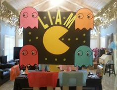 Liam's Pac-Man Party - Pam-Man Party