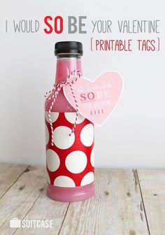 I would SO BE your Valentine! Printable tag from sisterssuitcaseblog.com #valentines #printable