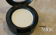 No greater highlighter than 'Nylon' by MAC.  The perfect inner eye, cheek bone or brow bone highlighter!  ...Because we don't always have time for 8 glasses of water a day and 8 hours of sleep!