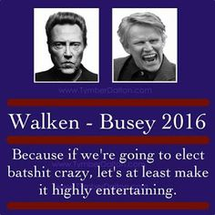 "The Digibandit: Christopher Walken for President  -""More Cowbell"" ..."