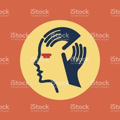 human head thinking a new idea royalty-free stock vector art Human Head, Free Vector Art, Royalty, Image, Royals