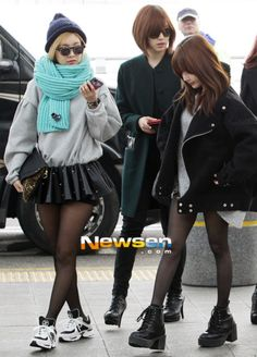 """Những bộ cánh """"cực chất"""" của các cô nàng T-ara"""
