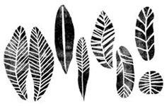 Assorted leaf patterns