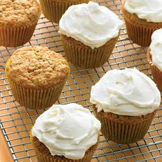 These carrot cupcakes will surely become a favorite in your baking repertoire.