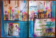 Sanity Thru Art Journaling