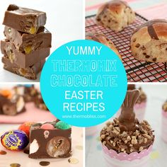 We decided to put together this collection of some of our favourite Chocolate Thermomix Easter Recipes which we know you are going to love!