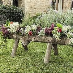 Turning Tree Logs Into a Train Planter - Yahoo Image Search Results