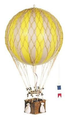 Amazon.com: Authentic Models Royal Aero Balloons in Rainbow: Patio, Lawn & Garden