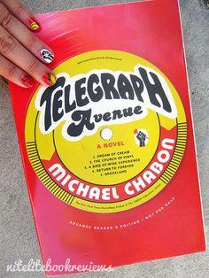 Nite Lite Book Reviews: Manicure Monday (34): Telegraph Avenue by Michael Chabon - www.nitelitebookreviews.com