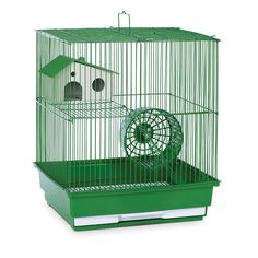 Prevue Pet Products Green Metal Two-story Hamster/Gerbil Cage by Prevue Pet…