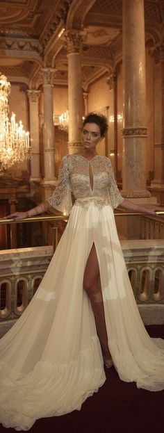 Ester Haute Couture Fall 2016 Long Sleeved Wedding Dress /  / http://www.himisspuff.com/long-sleeve-wedding-dresses/3/