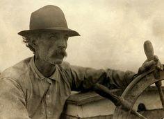 Oyster barge skipper, 1911 in Mobile Bay.
