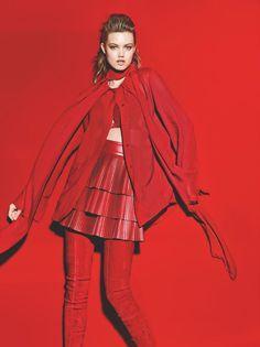 Fragmentos de Moda: Mix de Matérias e Cor compõem o tema do editorial ...
