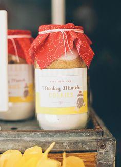 Classic Sock Monkey Birthday Party {with a Modern Twist}