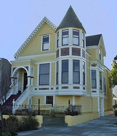"""Victorian used in the movie """"Pacific Heights"""" actually located in Portrero Hill"""