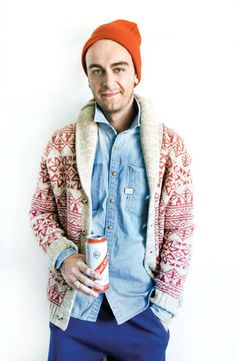Joe Gilgun with a Red Stripe?? 8) I love him even more LOL