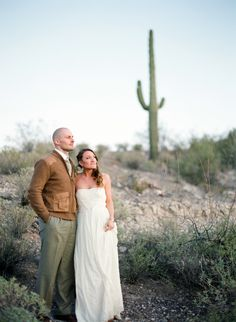 Beautiful Southwest Style Desert Elopement