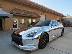 fullthrottleauto: Nissan GTR Chrome