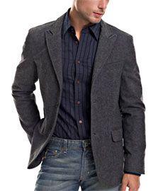 Armani Exchange Tweed Blazer
