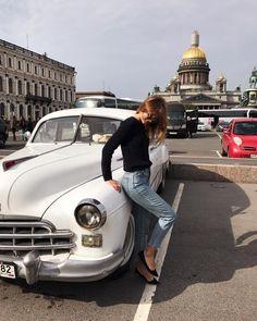 """10.6k Likes, 85 Comments - Anastasiia Nesterenko (@snova_nastia) on Instagram: """"Дима сказал, что можно запросто эту фотографию выдать за фото из пятидесятых, а я сказала, что…"""""""