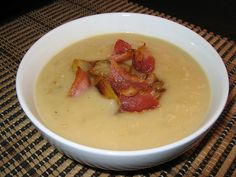 Caramelized Onion and Gorgonzola Soup