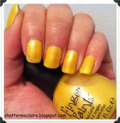 Finger Paints - Art Nouv-Yellow