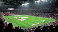 Wembley - The home of England Football Club, one of the worlds leading football stadiums