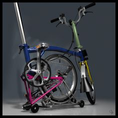 Brompton Folding Bike Animation, Digital Art, Visual Effects