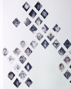 Diamond Template  Make keepsakes out of memorable photos with our frames, album, and family-tree clip art and templates.  Create family trees, collages, and arrangements with diamond-shaped black-and-white family photos.