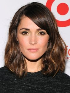 Rose Byrne�s sexy bob gets texture from loose, beachy curls. For waves and extra volume at your crown, mist hair with dry shampoo and twist small sections into loose ringlets. via StyleList